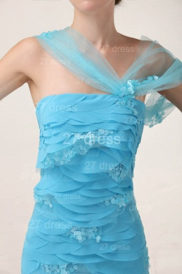 Luxury Blue Evening Dress UKes UK Tiered Sequined Mermaid Prom Gowns_3