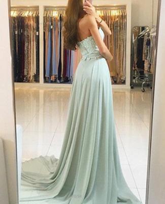 Sexy Sweetheart Lace Evening Dress UK Long Chiffon Prom Dress UK_3