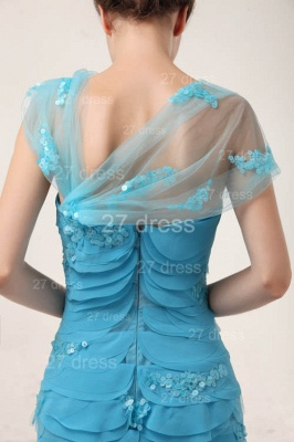 Luxury Blue Evening Dress UKes UK Tiered Sequined Mermaid Prom Gowns_5