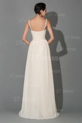 Modern Chiffon A-line Sequins Prom Dress UK Spaghetti Strap_3