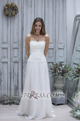 Sexy Straight Across Sleeveless Chiffon Prom Dress UK With Lace Floor-length_1