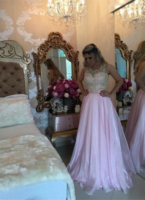 Luxury Sleeve Long Prom Dress UK With Beads BA3465_1