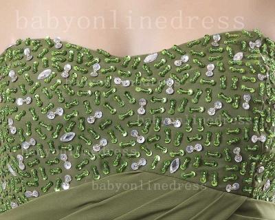 Sweetheart Ruffles Green Evening Dress UKes UK BabyonlineDress UK Beading Sheath Dark Gowns_2
