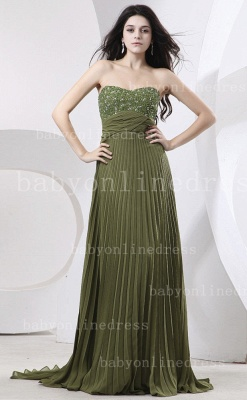 Sweetheart Ruffles Green Evening Dress UKes UK BabyonlineDress UK Beading Sheath Dark Gowns_4