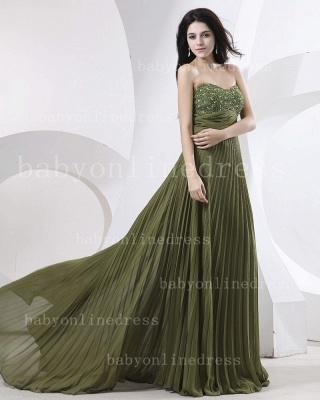 Sweetheart Ruffles Green Evening Dress UKes UK BabyonlineDress UK Beading Sheath Dark Gowns_1