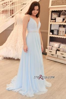 Long chiffon prom Dress UK, evening party Dress UK on sale BA8158_3