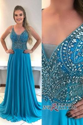 Chiffon prom Dress UK, evening Dress UKes UK with crystal_2
