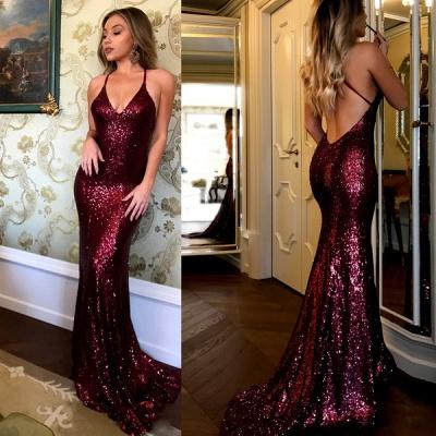 Elegant sequins prom Dress UK, mermaid evening gowns BA7290_2