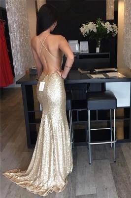 Elegant Sleeveless Mermaid Sequins Prom Dress UKes UK Floor Length_1