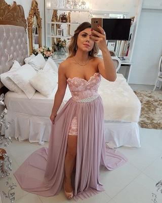 Stunning Sweetheart 2019 Evening Dress UK   Long Prom Party Dress UK With Skirt_4