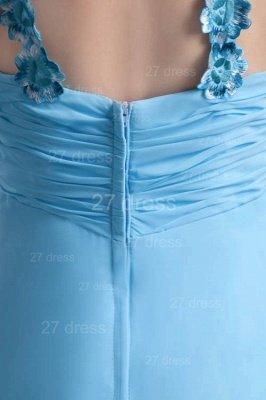 Sexy Chiffon A-line Appliques Evening Dress UK Floor-length Zipper_4