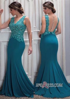 Blue mermaid evening Dress UK, formal Dress UKes UK_2
