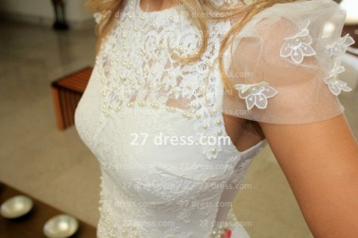 Prom De Short White Lace Cocktail Dress UK with New Arrival Sexy Gowns Vestidos Fiesta Sleeves_4