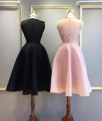 Newest Short Mini Homecoming Dress UK Sleeveless Jewel BA5096_2
