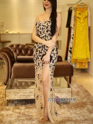 Sweetheart beadings prom Dress UK,mermaid party Dress UK BA8058_3
