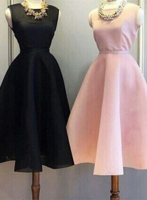 Newest Short Mini Homecoming Dress UK Sleeveless Jewel BA5096_5