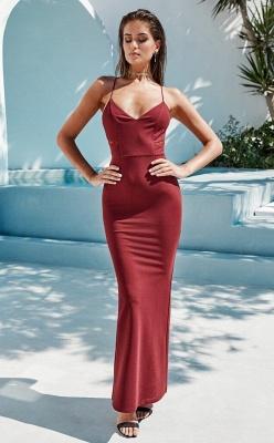 Sexy Spaghetti Straps Mermaid Sweetheart Lace Prom Dress UK_2