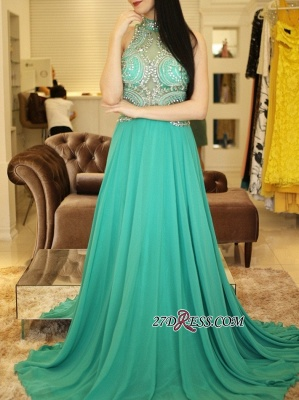 Long chiffon prom Dress UK, eveing Dress UK with crystal_4