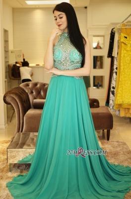 Long chiffon prom Dress UK, eveing Dress UK with crystal_5
