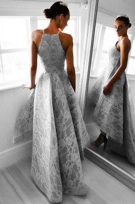 Gorgeous Hi-Lo Lace Sleeveless Short Prom Dress UK BA6799_3