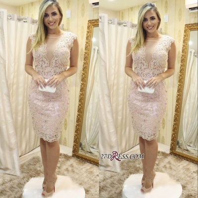 Lace tight short prom Dress UK, homecoming Dress UK_1