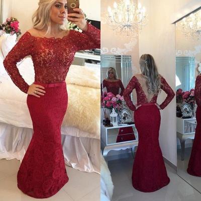 Elegant Black Lace Prom Dress UK   Long Evening Gowns_4