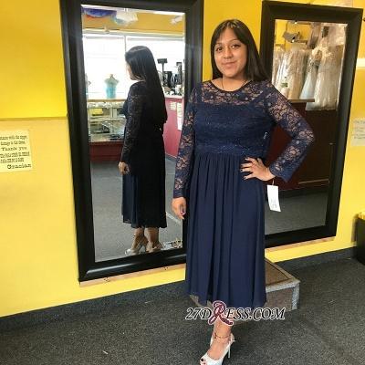 Long chiffon prom Dress UK, long sleeve evening party Dress UK_1