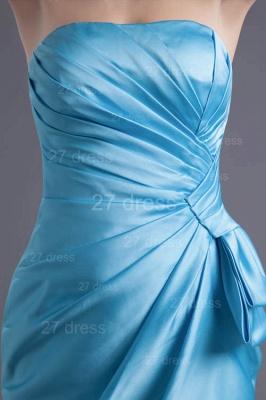 Modern Strapless Bodycon Short Cocktail Dress UK Sleeveless Zipper_2
