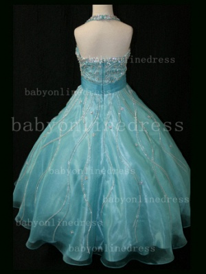 Teens Glitz Pageant Dresses for Girls with Inexpensive Formal Gowns Sweetheart Beaded Crystal_3