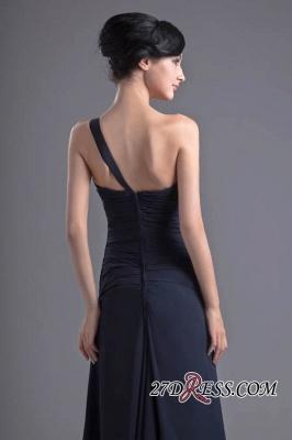 Sexy A-Line Flower One-Shoulder Floor-Length Bridesmaid Dress UKes UK_5