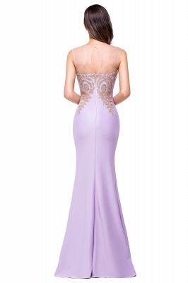 Elegant Illusion Appliques Mermaid Prom Dress UK Zipper Floor-length_3