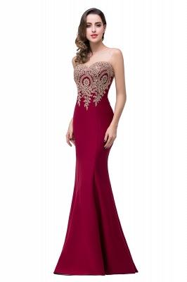 Elegant Illusion Appliques Mermaid Prom Dress UK Zipper Floor-length_8