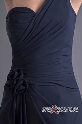 Sexy A-Line Flower One-Shoulder Floor-Length Bridesmaid Dress UKes UK_2