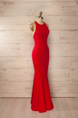 Elegant Sleeveless Backless Prom Dress UKes UK Long Mermaid Party Gown BA3168_5