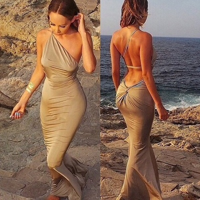 Elegant Sleeveless Mermaid Prom Dress UKes UK Floor Length Beach Dress UK_3