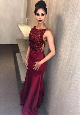 Modern Crystals Mermaid Jewel Prom Dress UK | Backless Prom Dress UK_1