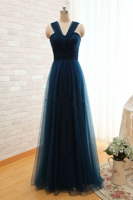 Sexy Sleeveless Evening Dress UK Long Tulle Floor Length_1