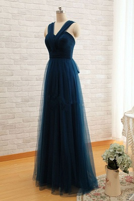 Sexy Sleeveless Evening Dress UK Long Tulle Floor Length_4