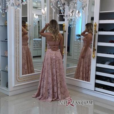 Pink pearls prom Dress UK, long alce evening Dress UK_2