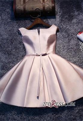 Sexy Short Lace-up Sleeveless Homecoming Dress UK_4