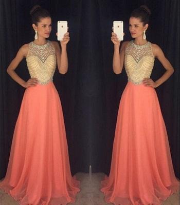 Classic Sleeveless Beadings Crystal Prom Dress UKes UK Long Chiffon AP0_3