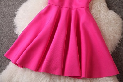 Luxury A-Line Sleeveless Homecoming Dress UK With Sequins_5