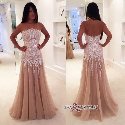 Lace tule prom Dress UKes UK, mermaid evening Dress UK_1