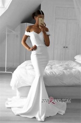 Off-the-Shoulder Sexy Mermaid Lace Prom Dress UKes UK BA6220_2