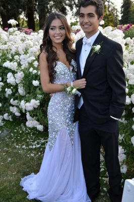 Gorgeous Sweetheart Beadings Prom Dress UKes UK Long Chiffon Party Gown_1