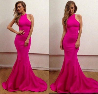 Elegant Haler Mermaid Prom Dress UKes UK Sweep Train Evening Dress UKes UK_2