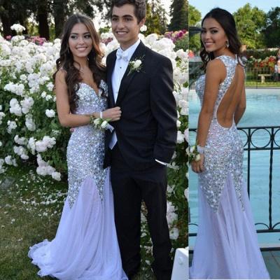 Gorgeous Sweetheart Beadings Prom Dress UKes UK Long Chiffon Party Gown_3