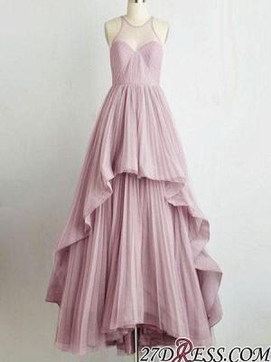 Chic Sleeveless Tiere A-Line Jewel Prom Dress UKes UK On Sale_3