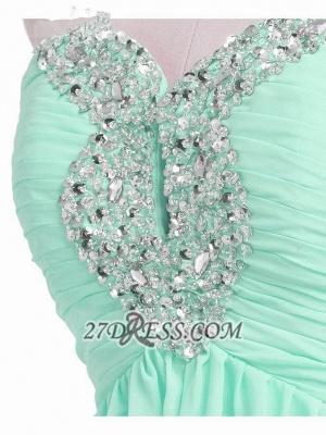 Lovely Semi-sweetheart Sleeveless Cocktail Dress UK Beadings Crystals Zipper Chiffon Short Homecoming Gown_3