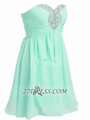 Lovely Semi-sweetheart Sleeveless Cocktail Dress UK Beadings Crystals Zipper Chiffon Short Homecoming Gown_4